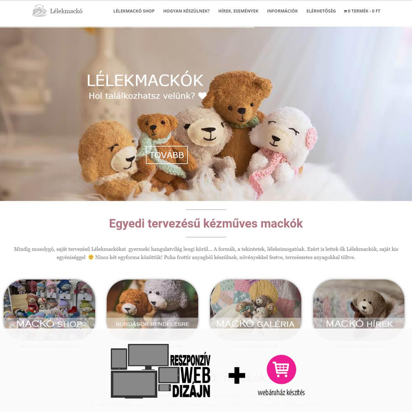 lelekmacko-weboldal-tervezes