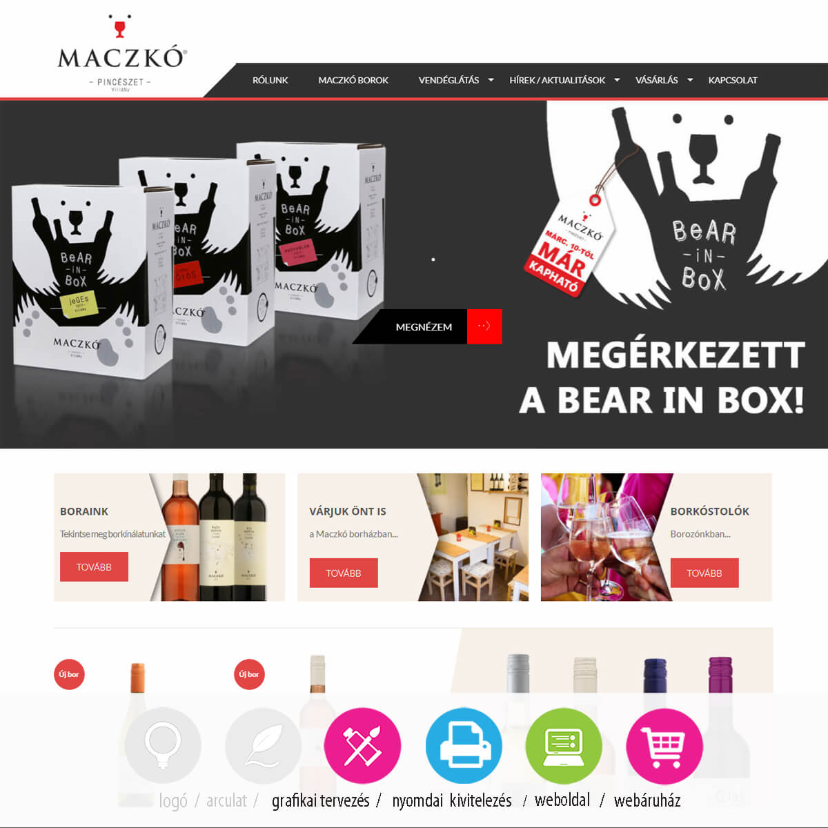 maczko-webaruhaz-weboldal-grafika