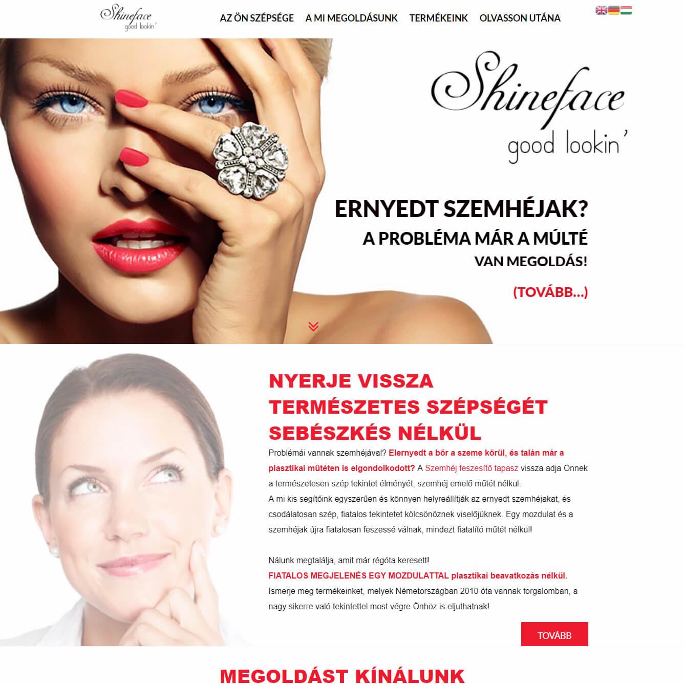 shineface-webshop-